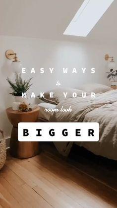 make your room look bigger