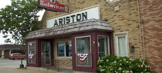 The Ariston Café was founded by Pete Adam, a Greek immigrant, in 1924 and has now been placed on the National Registry of Historic places.