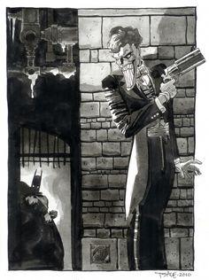 Tim Sale - Joker
