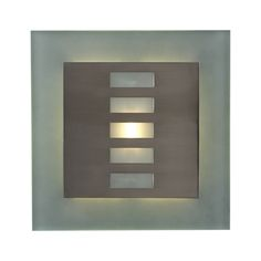 Shop PLC Lighting  2312 SN Soho Wall Sconce, Satin Nickel at The Mine. Browse our wall sconces, all with free shipping and best price guaranteed.