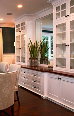 Bar cabinetry inspiration - cupboards