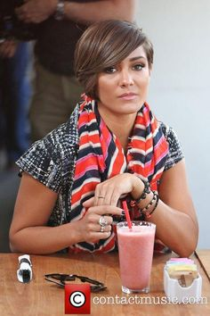 I have no idea who Frankie Sandford is but I'm obsessed with her hair!