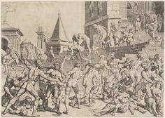 Dirck Volkertsz. Coornhert Maarten van Heemskerck The Massacre of the Innocents 1551