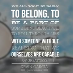 Life Rolls On and So Do We, Kevin Garcia | http://www.bedlammag.com/life-rolls-on-and-so-do-we/