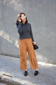 Xá de Amora - Blog de Moda: LOOK LISTRAS E CARAMELO