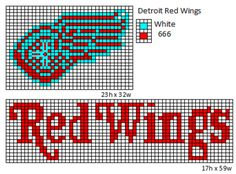 Detroit Red Wings by cdbvulpix.deviantart.com on @deviantART