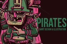 Pirates Illustration @creativework247