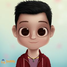 Made with Dollify Cute Cartoon Boy, Cute Cartoon Characters, Cartoon Man, Cartoon Girls, Baby Cartoon, Girly Drawings, Kawaii Drawings, Percy Jackson, Cute Boy Wallpaper