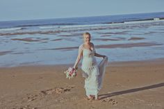 Real bride Jayne in the Claire Pettibone 'Kristine' wedding gown http://www.clairepettibone.com/bridal/?cp=gowns/kristene | Photo: Helen Russell | Floral: Bels Flowers