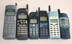 Project for 2013: expand my old mobile phones collection