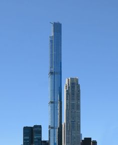 Photographer Paul Clemence has captured Central Park Tower, a supertall skyscraper designed by Adrian Smith + Gordon Gill that will be the tallest residential building in the world, as it nears completion in New York. Wooden Skyscraper, 432 Park Avenue, Shop Architects, Adrian Smith, Hudson Yards, Glass Facades, Jeddah, Central Park, Tower