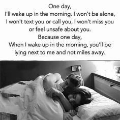 63 Ideas Good Morning Quotes For Him Long Distance Feelings Cute Love Quotes, Soulmate Love Quotes, Love Quotes For Her, Romantic Love Quotes, True Quotes, Quotes Quotes, Qoutes, Bed Quotes, Sucess Quotes
