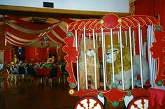 Circus Decorations | Circus - Theme Decor - Event Gallery - Portland Event Rentals (Peter ...