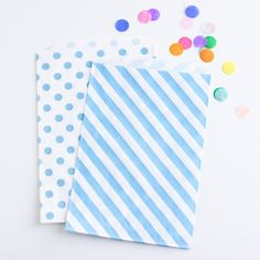 Lovely Treat Bags, Blue