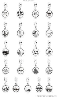 Pandora Destinations charms