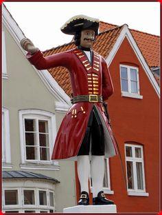 'The Law Enforcer' - Tønder, Jutland, Denmark