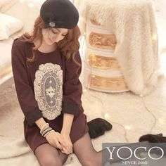 Buy 'Tokyo Fashion – Appliqué-Front Tunic' with Free International Shipping at YesStyle.com. Browse and shop for thousands of Asian fashion items from Taiwan and more!