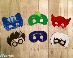 PJ Masks Inspired Printable Masks Instant Download