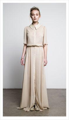 Winter Garden Dress by Juliette Hogan