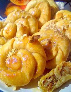 Sweet Buns, Sweet Pie, Sweet Bread, Greek Desserts, Greek Recipes, Vegan Vegetarian, Vegetarian Recipes, Baking Business, Pretzel Bites