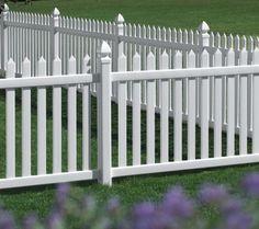 Danbury Vinyl Fence