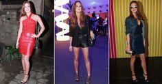 Marina Ruy Barbosa: atriz sabe como usar couro no verão; confira