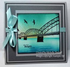 Over the Bridge – Stampin' Up! Card