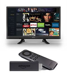 Seiki SE32HY 32-Inch 720p 60Hz LED TV and Amazon Fire TV Stick. it' s only $180!