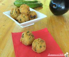 Polpette di cous cous zucchina e melanzana