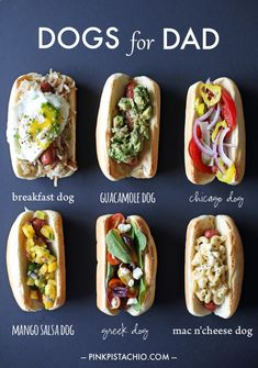 If you're going to eat a hot dog, then power them up like this. A lot of these toppings would be great on any sandwich too! Hot Dog Recipes, Great Recipes, Favorite Recipes, Food For Thought, Gourmet Hot Dogs, Food Trucks, Hot Dog Toppings, Hot Dog Bar, I Foods