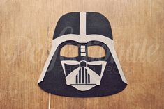 Darth Vader Helmet Photo Prop on a Stick Space by Perfectionate