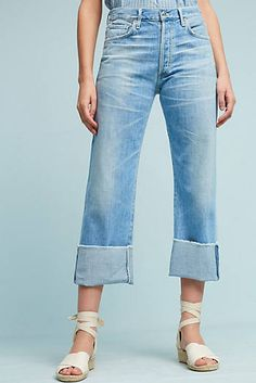 Citizens Of Humanity Parker Ultra High-Rise Straight Jeans