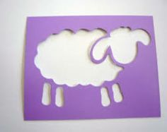 stencil for toy sheep - Google Search