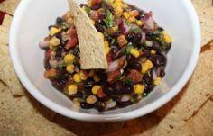 Emergency Black Bean Salsa