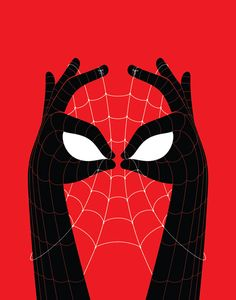 …The Amazing Spider-Hands by Bruce Yan / Tumblr …