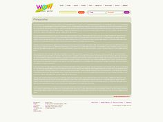 WOW Megatone Website Templates by Oldman Mobile Website Template, Content, Templates, Blog, Stencils, Template, Western Food, Patterns