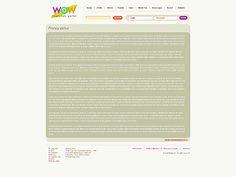 WOW Megatone Website Templates by Oldman