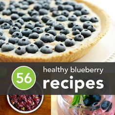 56 Healthy Blueberry Recipes