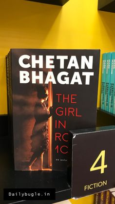 - One Indian Girl- The Girl in Room Half Girlfriend- 2 States - The 3 Mistakes of my life - Five Point Someone. New Books, Good Books, Books To Read, One Indian Girl Book, Movie 3 Idiots, Chetan Bhagat Books, Half Girlfriend, English Writers, Best Novels