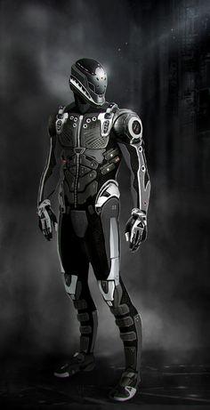 Cyber Suit concept.