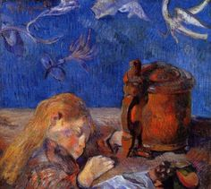 Clovis Gauguin asleep, 1884, Paul Gauguin