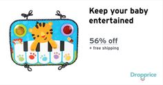 """Help me drop the price of the Fisher-Price Kick and Play Piano to $12.00 (56% off). The price continues dropping as more moms click """"Drop the price"""". Moms drop prices of kids & baby products by sharing them with each other."""