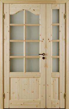 Atle 3 Valv Wide+Small Door - Interior door Made by GK Door, Glommersträsk, Sweden.