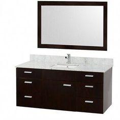 20 best wall mounted bathroom vanity images bathroom vanities rh pinterest com