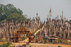 Kakku, Myanmar   卍 architecture