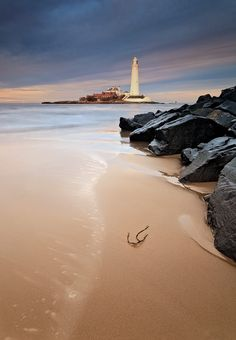 Whitley Bay - St. Mary's Lighthouse -  Northumberland