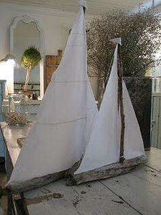 Sail boat.. I wanna make this!
