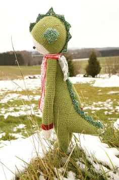 Arthur dragon crochet by Mu et Cie