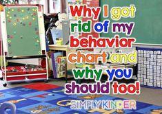 Behavior Management: Why I got rid of my behavior chart...