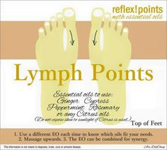 Apply these essential oils to the tops of your feet to support a healthy immune systme.